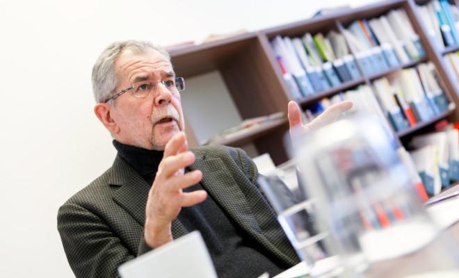 Alexander van der Bellen (Bild: Christoph Hopf)