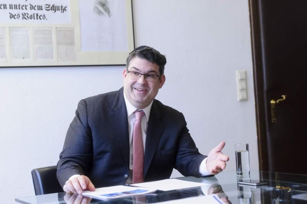 Oskar Deutsch: Bin zufrieden, wenn Strache zu Israel steht