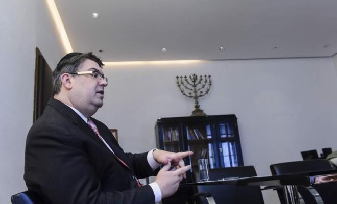 Oskar Deutsch: Bin zufrieden, wenn Strache zu Israel steht (Bild: Martin Juen)